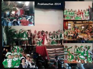 proklamation 2014